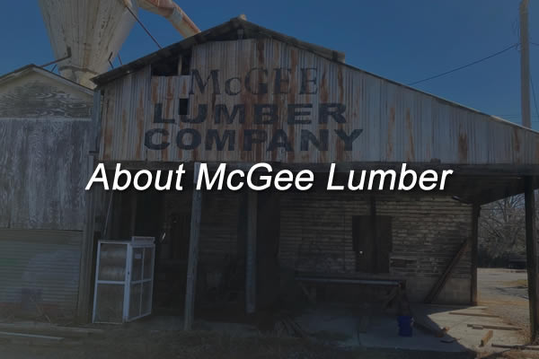 About McGee Lumber Company